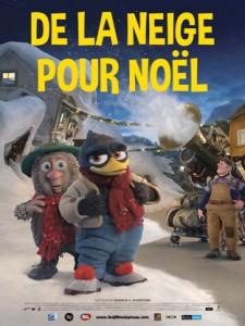 """Affiche du film """"De la Neige pour Noël"""""""