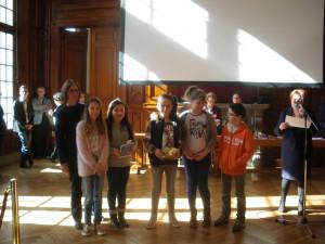 Notre 2ème groupe de d'heureux lauréats