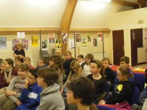 Un public d'enfants capellois.